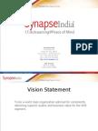 Synapse India Corporate Presentation PPT