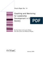Praxis Paper 14 Coaching and Mentoring for Leadership Development (1)