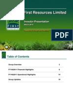 FirstResources_Investor Presentation Mar 2012