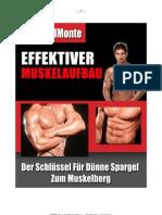 Effektiver Muskelaufbau - Vince DelMonte
