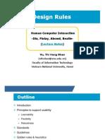 7 Design Rules