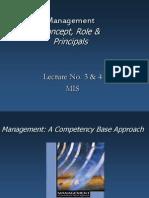 Lecture-2 & 3 Management