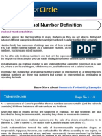 Irrational Number Definition