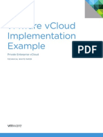 VMware vCloud Private Enterprise Cloud