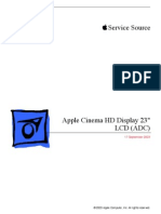 Cinema HD Display 23 Service Manual