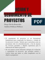 Evaluacion y Seguimento de Proyectos