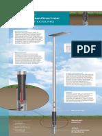 Renopol, die kostengünstige Lichtmast-Lösung