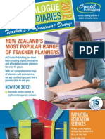 Teacher Planning Diaries (2012)