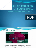 Application of Reflection of Sound Waves