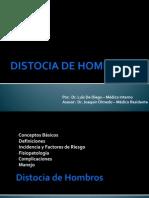 DISTOCIA DE HOMBROS