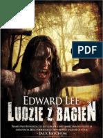 """Edward Lee, """"Ludzie z bagien"""", Wydawnictwo Replika 2012"""