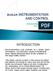 Boiler Instrumentation and Control Present Ti On