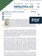 """Marco Respinti, """"Orgoglioso di essere occidentale"""", in """"Ragionpolitica.it"""", Genova 08-05-2012"""
