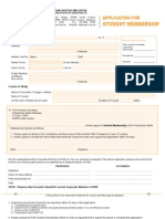 PAM Membership Form
