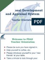 Teacher Orientation Slides