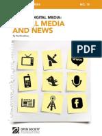 Mapping Digital Media - Social Media