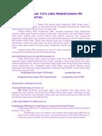 Konsep Dasar Dan Tata Cara Penghitungan Pph Potongan