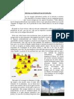 Energías alternativas en España
