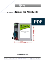 MBD Mini2440+7in LCD Manual
