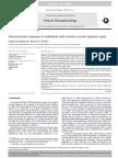 Neuromuscular Responses in Individuals With Anterior Cruciate Ligament Repair