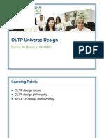 OLTP Universe Design