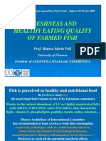 Bianca Maria Poli - Freshness and Healthy Eating Quality of Farmed Fish