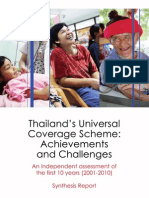 THailand UCS Achievement and Challenges