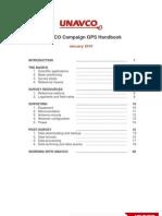 Unavco Campaign Gps Gnss Handbook[1]