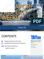 Singapore Property Weekly Issue 50