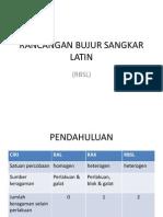 Rancangan Bujur Sangkar Latin