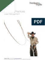 H&T Lead Management Best Practices