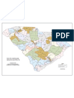 South Carolina State Senate Districts (2012)