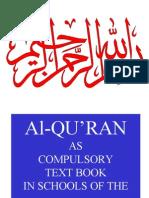 Quran as Subject