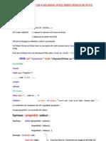 CSS (CASCADING STYLE SHEET) FEUILLE DE STYLE