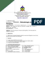 CIN 5442 - Metodologia Da Pesquisa Cientifica