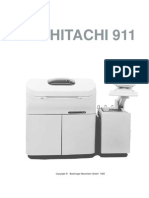 ROCHE Hitachi 911 User Manual