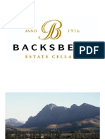 Backsberg Short Overview
