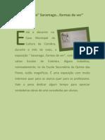 Exposição Saramago