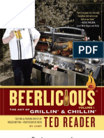 Sample Grilling Recipes From Beerlicious by Ted Reader