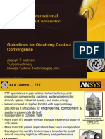 2008 Int ANSYS Conf Guidelines Contact Convergence