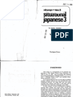 Nihongo Notes 08 - Situational Japanese 3