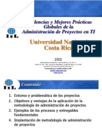 Presentación Experto Mexicano sobre la Administración de Proyectos