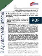 ORDENACIÓN DEL TERRITORIO Y SOSTENIBILIDAD Ecoparque Junta de Gobierno