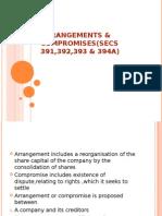 Arrangements & Compromises(Secs 391,392,393 & 39a)