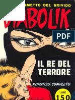Diabolik 001 Il Re Del Terrore
