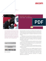 TEMS Automatic 9.0 - RTU Product Sheet
