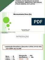 Micronutriente Zinco
