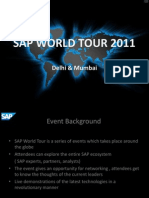 Sap World Tour 2011 By wizcraft