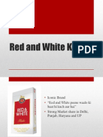 red and white kings Cigarette Promotion By wizcraft
