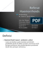 Referat haemorrhoid